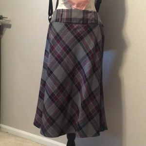 Dress Barn Skirts - Plaid pencil skirt